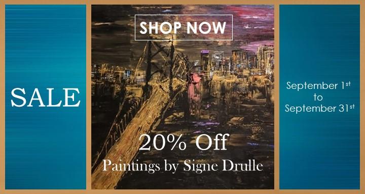 20% Off Signe Drulle - September