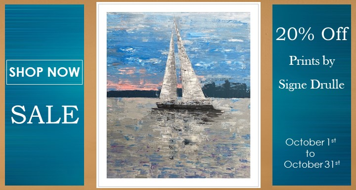 20% Off Print by Signe Drulle - October