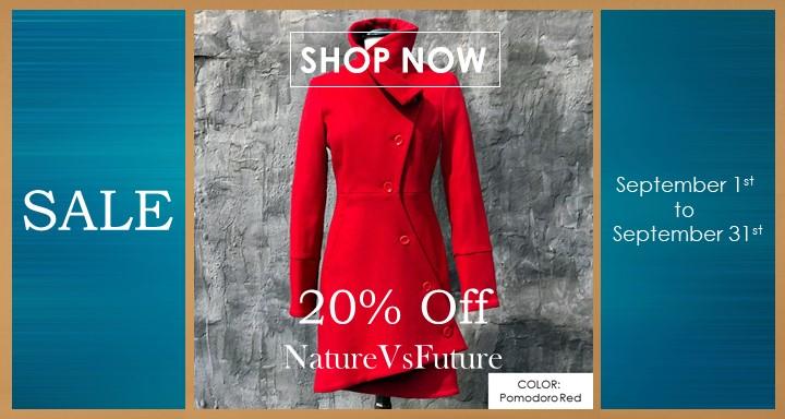 20% Off NatureVsFuture - September